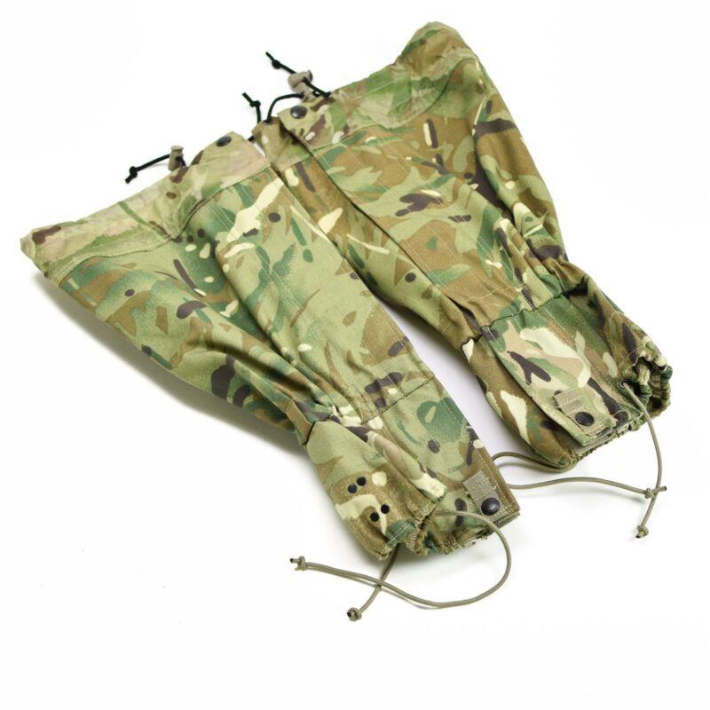 Original British army MTP camouflage gaiters comber waterproof hiking snow boot