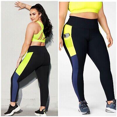 NWT Fabletics Demi Lovato Mila High Waisted Leggings Medium $74.95