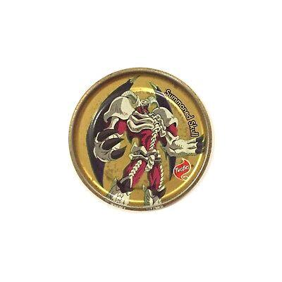Yugioh TAZO Metalix SUMMONED SKULL #10 Rare Gold Ultra Metal