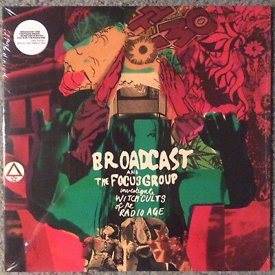 Broadcast And The Focus Group    Investigate Witch Cults Of The Radio Age Vinyl