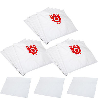 15 x FJM Hoover Bags + Filters for Miele Compact C1 C2, Cat & Dog Vacuum Cleaner
