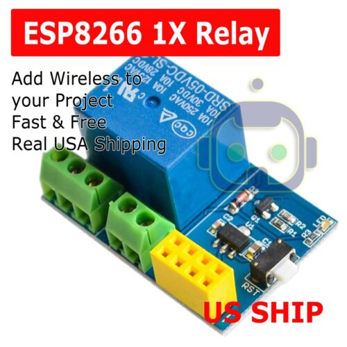ESP8266 Relay Module Smart Home Phone Remote Control Switch APP ESP-01S 5V WiFi