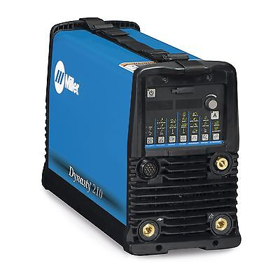 Miller Dynasty 210 Dx Tig Welder 120-480v Cps And Auto Line 907686002