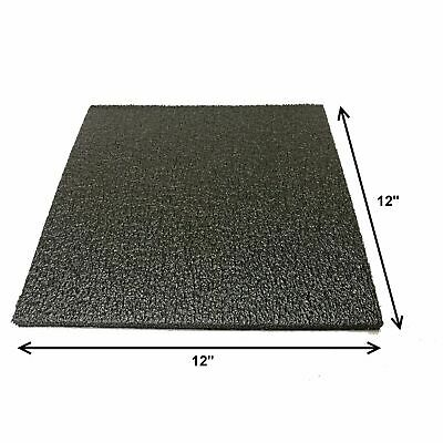 Foam Sheet 12x 12 0.5 12 Thick Black Packaging Shipping Firm 998-53x1