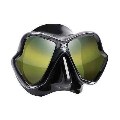 Mares X-Vision Ultra Liquidskin Scuba Diving Snorkeling Mask Gold Lens