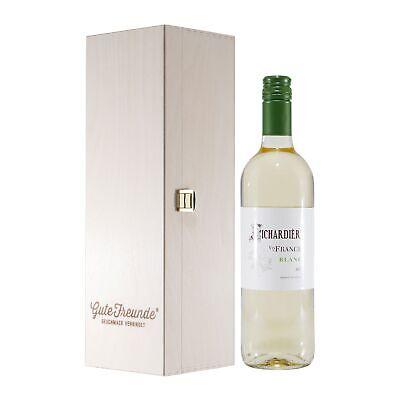 Richardière Blanc VDF Weißwein mit Geschenk-HK 11,00% vol. 0,75 L