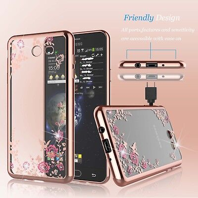 For Samsung Galaxy S7 S8 S9 Plus J3 Luna Pro J7 Sky Pro Luxury TPU Clear Case