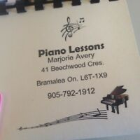 PRIVATE PIANO LESSONS RCM INSTRUCTOR   class lessons
