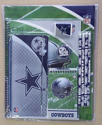 Dallas Cowboys Folders Pencils Notebook Pencil Pouch Eraser](Dallas Cowboys Pencils)