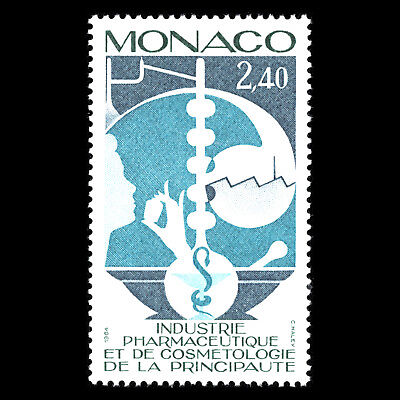 Monaco 1984   Pharmaceutical And Cosmetics Industry   Sc 1442 Mnh