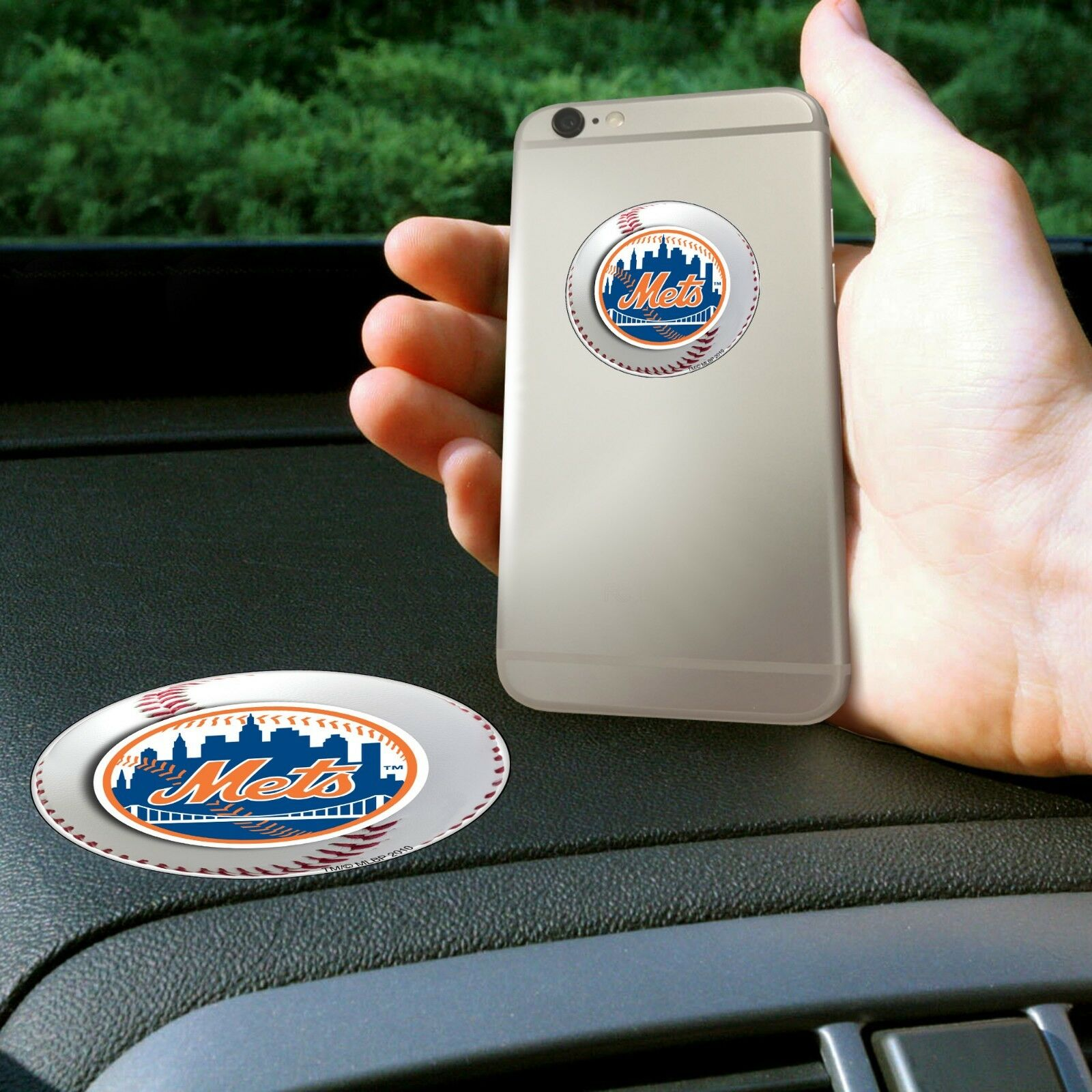 New York Mets MLB Get a Grip Cell Phone Grip Never lose your