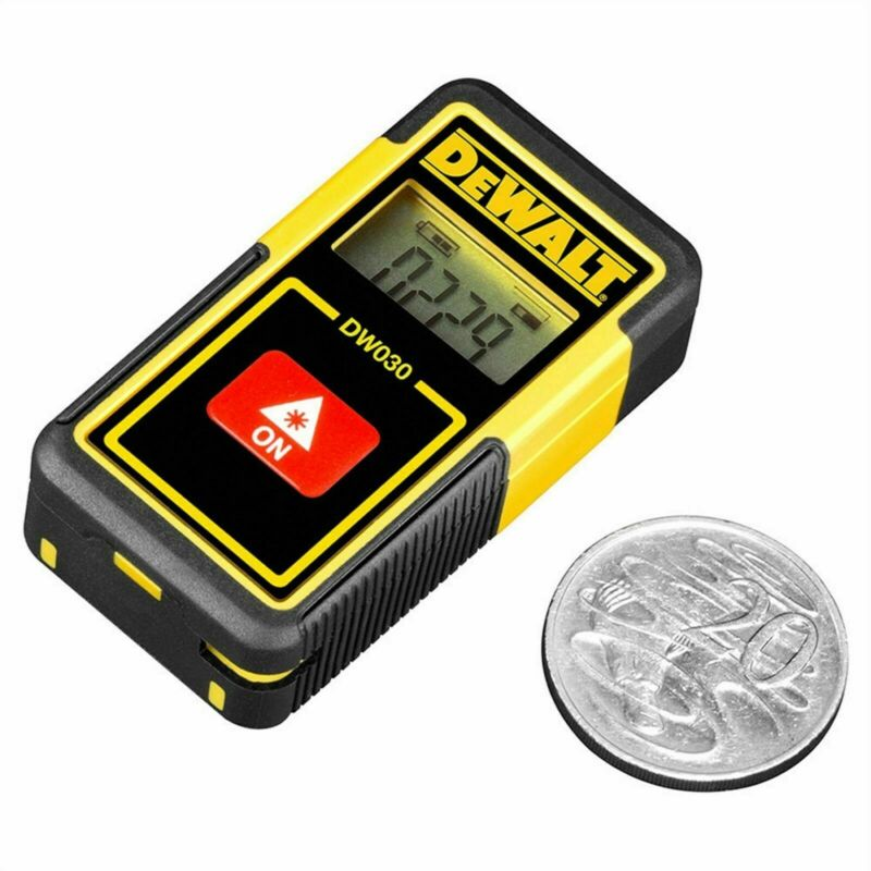 Dewalt 9m Pocket Laser Distance Measurer - Usa Brand