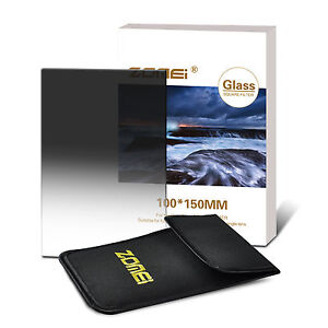150*100mm Glass ND8 Graduated Grey Neutral Density Square Filter for Cokin Z-PRO