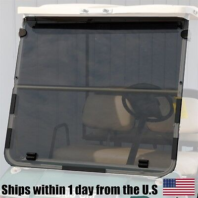 Golf Cart Tinted Acrylic Folding Flip Wind Shield for Club Car DS 1982-2000.5