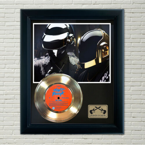 "Daft Punk ""Da Funk"" Framed Record Display"