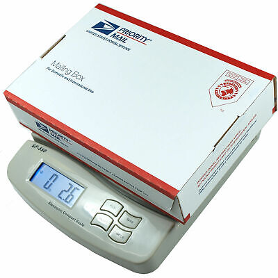55 LB x 0.1 OZ Digital Postal Shipping Scale V4 Weight Postage Kitchen Counting