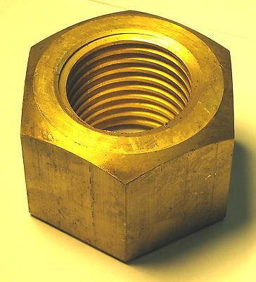 2 - 5 Tpi Lh Left Hand Acme Thread Brass Nut Buffing Jack Buffer Polisher Mach