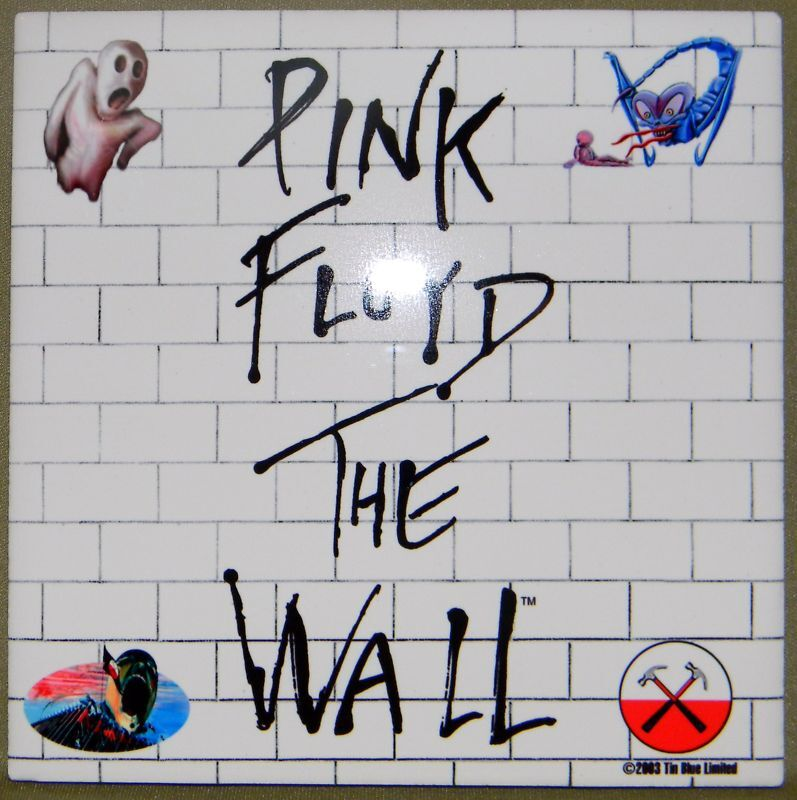 PINK FLOYD The Wall AUTHENTIC, LICENSED Porcelain Tile