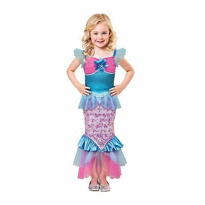 Kinder Mädchen Kleine Meerjungfrau Sparkle von das Meer - Kleine Meerjungfrau Kostüme Mädchen