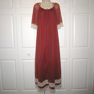 Peignoir Robe Nightgown - Vtg Jenelle of California 56