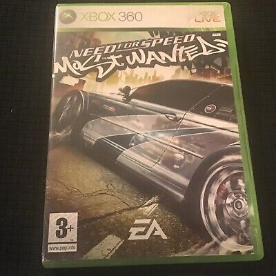 💰 SALE: Need for Speed Most Wanted Xbox 360 game - Rare 2005 Edition.
