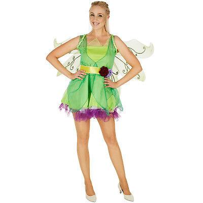 Frauenkostüm Blumenfee Kostüm Frauen Karneval Fasching Halloween Märchen Blumen