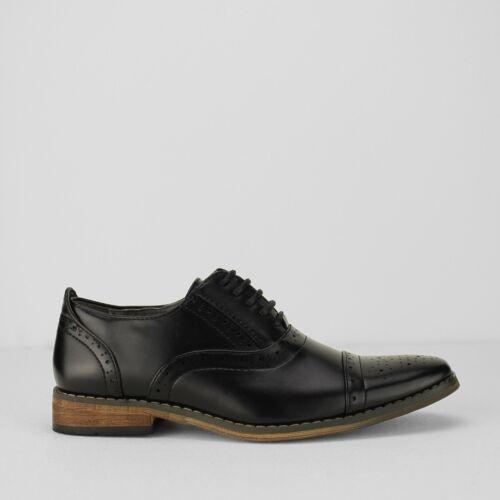 Goor Boys Oxford Brogues Kids Tan Smart Formal Dress Back to School School Shoes