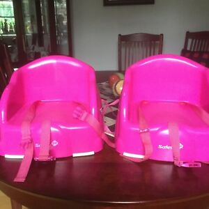 Toddler booster seats $10 each