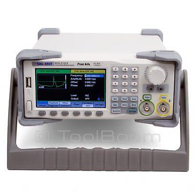 Siglent Sdg2122x Functionarbitrary Waveform Generator 120 Mhz 1.2 Gsas 16 Bits