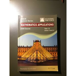 Year 12 Mathematics Applications ATAR WACE revision series