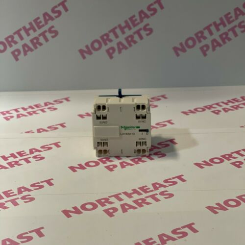 Schneider Electric Auxiliary Contact Block LA1KN113