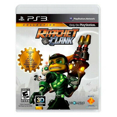 Ratchet & Clank Collection Sony PlayStation 3 Video Game PS3 commando arsenal
