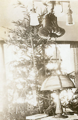(ARTISTIC ANTIQUE TIFFANY STYLE TABLE LAMP HIDDEN ANGELS FINE CHRISTMAS OLD PHOTO)