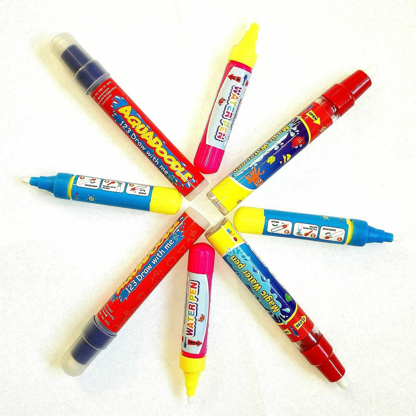 2x Stift für Aqua Doodle Malstift Ersatzstift Zusatzstift Malen mit Wasser draw