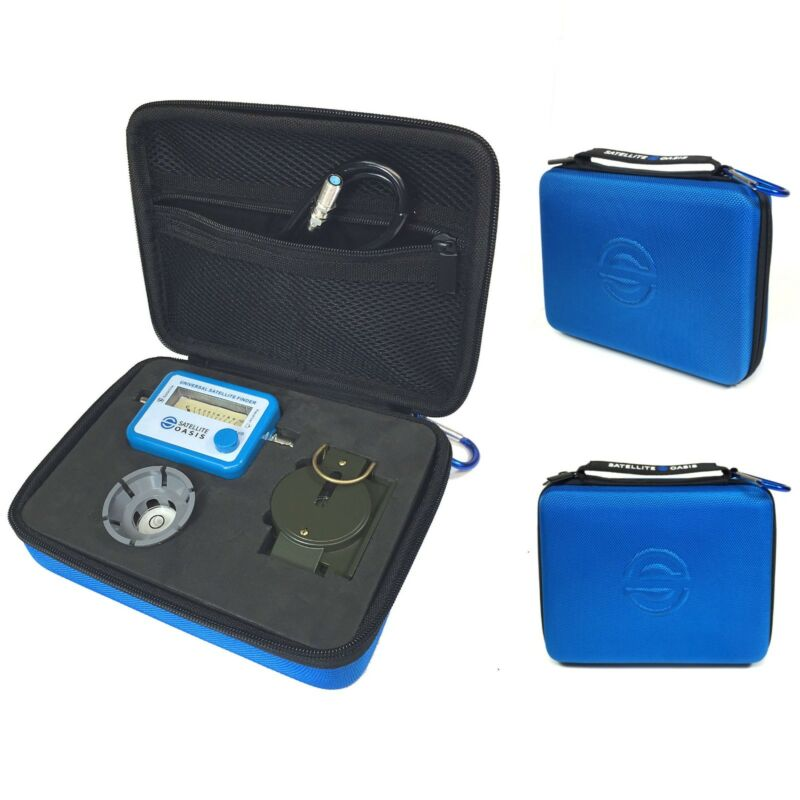 Satellite Meter Finder Kit w/ Compass for Directv Dish FTA Digital and Analog
