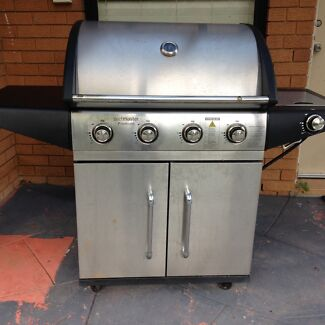 Beefmaster 4 Burner BBQ With Side Burner Picnic Point Bankstown Area Preview