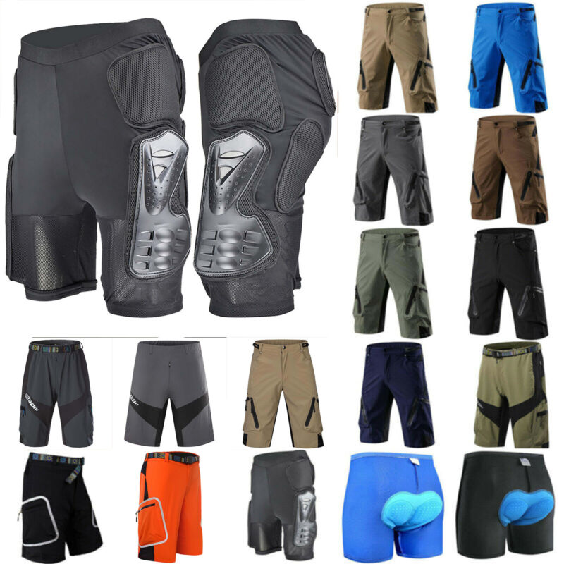 Herren Fahrradhose Shorts Kurzhose Atmungsaktive MTB BMX Hosen Sports Radlerhose