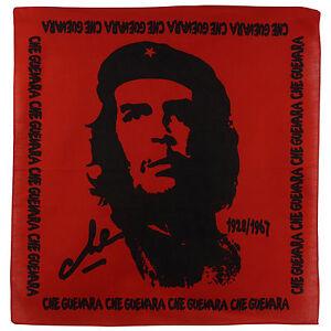 NUOVO-DA-UOMO-CHE-GUEVARA-ROSSO-BANDANA-SCIARPA-Revolution-ARGENTINA-cubani