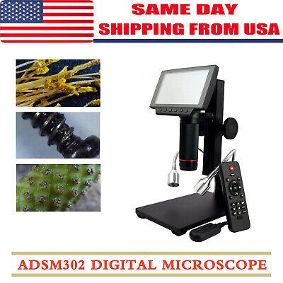 Andonstar Adsm302 1080p Hdmiav Digital Microscope Magnifier For Pcb Repair Tool