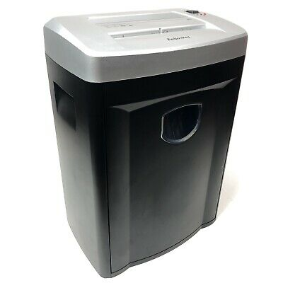 Fellowes Dm8c Cross Cut Industrial Office Paper Shredder