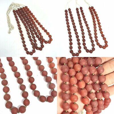 1 x 5 mm approx Awesome Quality 8 inch long strand Faceted Garnet Heishi Beads