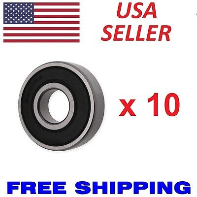 6203-2rs C3 Premium Sealed Ball Bearing 17x40x12 Qty. 10