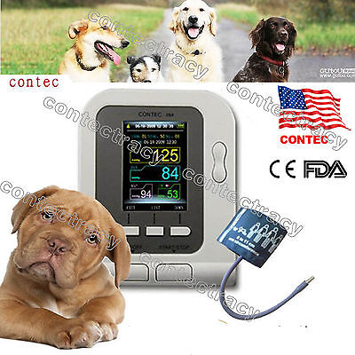 Us Fda Digital Veterinary Blood Pressure Monitor Contec08a Vet Nibp For Animals