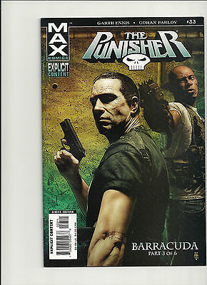 Punisher Max #33 NM Vol 1