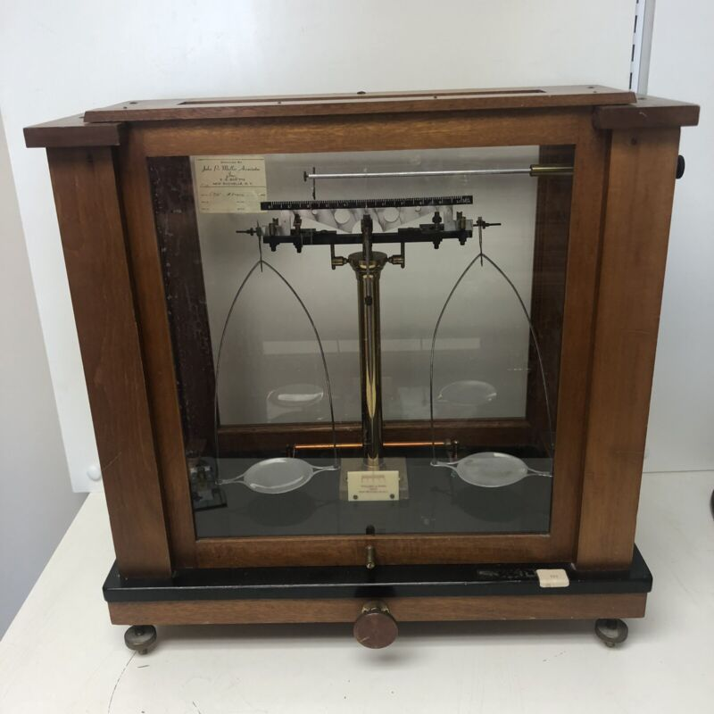 Vintage Voland & Sons Analytical Balance Scale