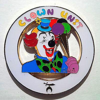 Clown Unit Cut Out Auto Emblem