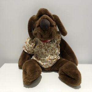 "1989 Ganz Bros. ""Wrinkles"" Hand Puppet Plush"