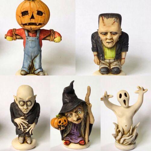 Neil Eyre Halloween Frankenstein Dracula pumpkin man Vampire Witch Ghost U Pick1