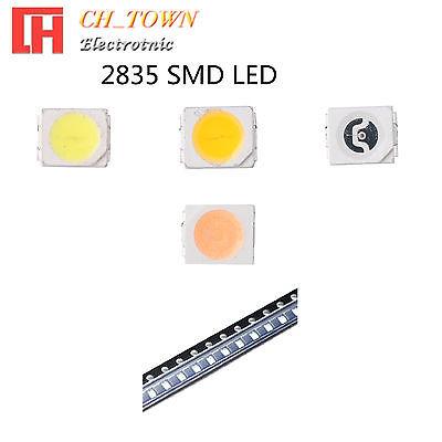 50 100pcs 2835 Smt Smd Led Emitting Diodes White Blue Light Lamp Bulb