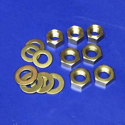 Girder Fork Spindle Nut Set for Norton ES2, 16H, 18, 19, CS1, Big 4 and others